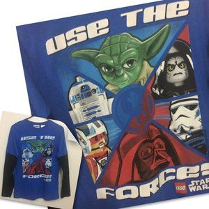 Lego Star Wars Boys Use The Force Graphic T-Shirt